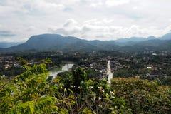 Landscap prabang Luang в Lao Стоковая Фотография