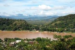 Landscap prabang Luang в Lao Стоковые Фото