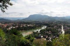 Landscap prabang Luang в Lao Стоковая Фотография RF