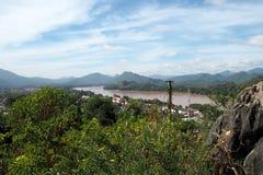 Landscap prabang Luang в Lao Стоковое фото RF