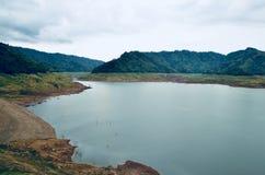 Landscape湖视图 免版税库存图片