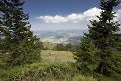 landscape гора Стоковые Фотографии RF
