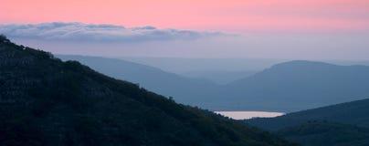 landscape гора Стоковое Фото