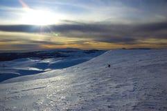 landscape зима Стоковое фото RF