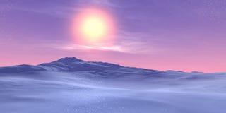 landscape зима Стоковые Фотографии RF