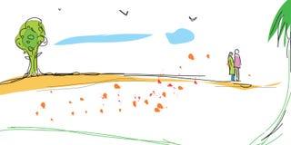 Landscape. Illustration Stock Image