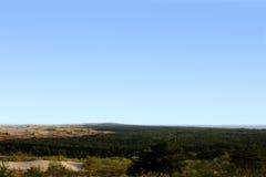 Landscape. The landscape of Lithuania's sand-dunes stock photo