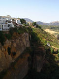 Ronda, Spain. A view in Ronda, Andalusia, Spain royalty free stock image