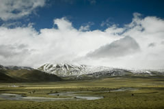 Landscape. Beautiful landscape in tibet, china Royalty Free Stock Photos