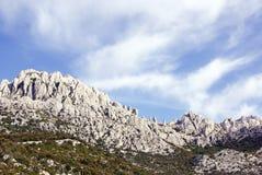 Landscape. The Velebit mountains in Croatia royalty free stock image