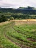 Landscape. Tarnica, Bieszczady Mountains in Poland Royalty Free Stock Photos