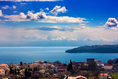 Landscape. Beautiful sea landscape.View from Varna,Bulgaria Royalty Free Stock Photo