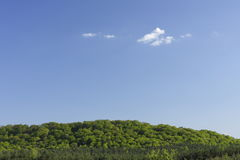 Landscape. Panorama photo in sunny day royalty free stock photos