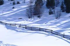 Landscape. Winter in igls Stock Images