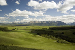 Landscape. Landscape shot near Waterton Lakes National Park Stock Photo