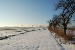 Landscape. Beautiful winter landscape #18 Royalty Free Stock Photography