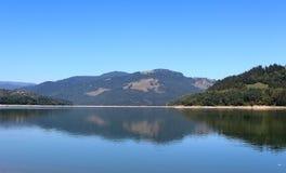 Landscape湖 免版税库存照片