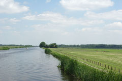 Landscape. Dutch landscape royalty free stock image