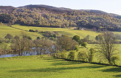 Landscape of Aberfeldy area in Scottish Highlands Stock Images