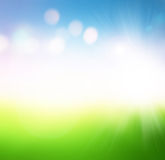 Landscape,abstract blur background for web design Stock Photography