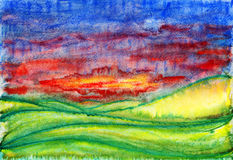 Landscape. Royalty Free Stock Image