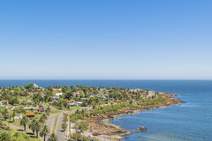 Landscape Aerial View Punta Colorada Uruguay Royalty Free Stock Image