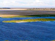 Landscape Africa. In Tsavo Nationalpark Stock Photos