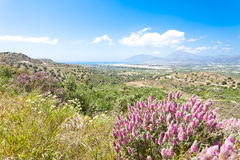 Landscape of Agios Ioannis Stock Image