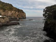 Landscape of Agua de Pau. Parish, Lagoa. Sao Miguel Island, Azores, Portugal Stock Image