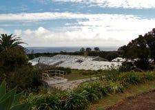 Landscape of Agua de Pau. Parish, Lagoa. Sao Miguel Island, Azores, Portugal Stock Photos