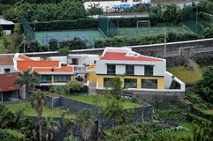 Landscape of Agua de Pau. Parish, Lagoa. Sao Miguel Island, Azores, Portugal Stock Photo