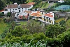 Landscape of Agua de Pau. Parish, Lagoa. Sao Miguel Island, Azores, Portugal Stock Images