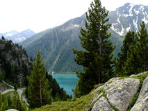 Landscape in the Ahrn Valley in South Tyrol Royalty Free Stock Photo