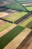 Landscape from the air royalty free stock photo
