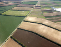 Landscape from the air Royalty Free Stock Photos