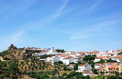 Landscape of Alegrete village. Stock Images