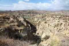 Landscape in Almeria. Landscape in the mountains near Almeria, Spain Royalty Free Stock Photo