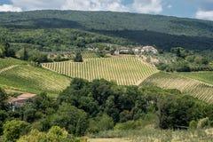 Landscape near San Gimignano Tuscany Royalty Free Stock Image