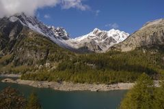 Landscape. In alpe devero during autumn Royalty Free Stock Photography