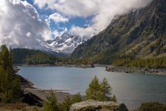 Landscape. In alpe devero in italy Royalty Free Stock Images