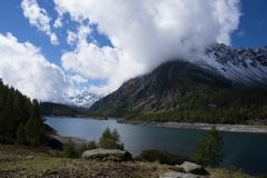 Landscape. In alpe devero in italy Stock Images