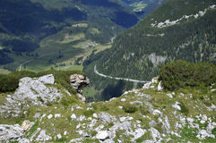 Landscape in the Alps Royalty Free Stock Image