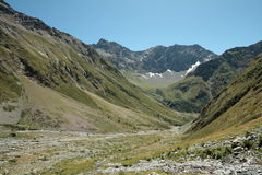 Landscape in Alps Stock Image