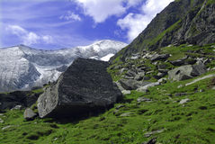 Landscape in Alps Stock Photography