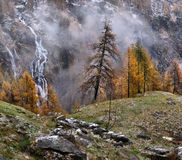 Landscape in the Alps Royalty Free Stock Photo