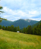 Landscape of the Alps. In Italy summer Royalty Free Stock Image