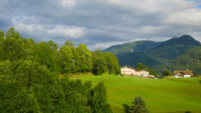 Landscape of the Alps Stock Image