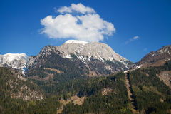 Landscape in the Alps Royalty Free Stock Photography