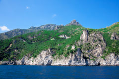 Landscape Amalfi Coast, Italy. Stock Photos