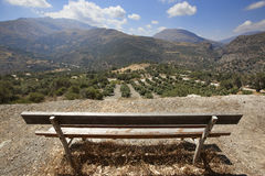 Landscape in Amari valley. Crete. Greece Royalty Free Stock Images